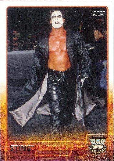2015 Topps WWE #98 Sting