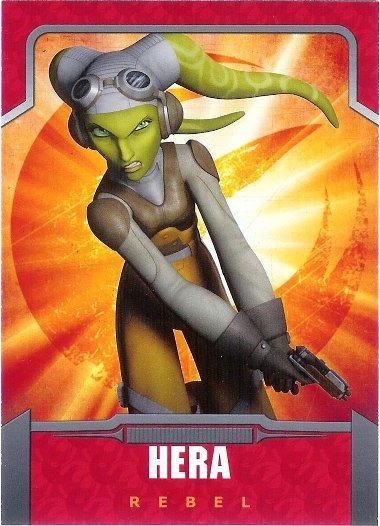 2015 Topps Star Wars Rebels #6 Hera