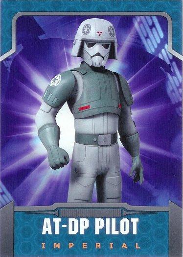 2015 Topps Star Wars Rebels #14 AT-DP Pilot