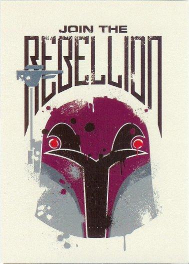 2015 Topps Star Wars Rebels Sticker #19 Join the Rebellion