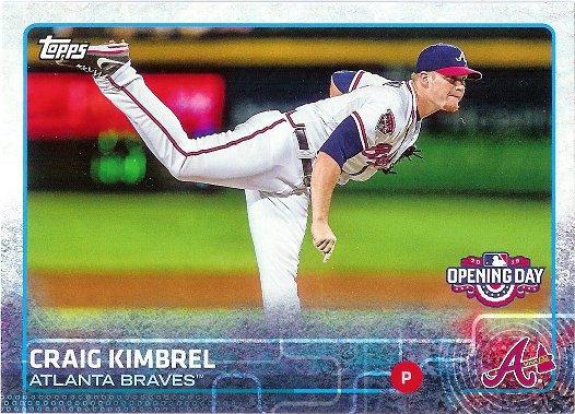2015 Topps Opening Day #119 Craig Kimbrel