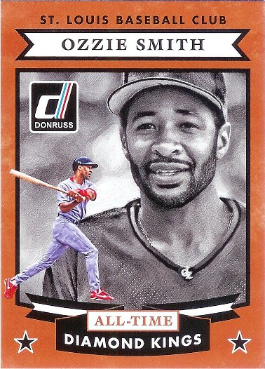 2015 Donruss All-Time Diamond Kings #11 Ozzie Smith