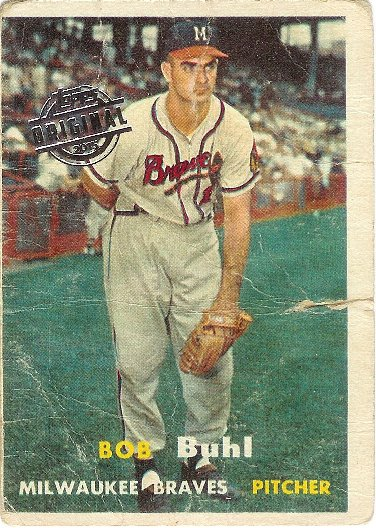 2015 Topps 1957 Original Buybacks #127 Bob Buhl