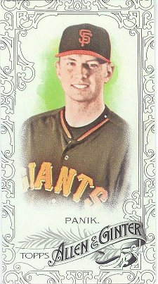 2015 Allen & Ginter Black Border Mini 72 Joe Panik