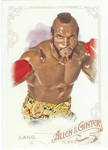 2015 Allen & Ginter 102 James