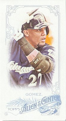 2015 Allen & Ginter Flag Back Mini 166 Carlos Gomez