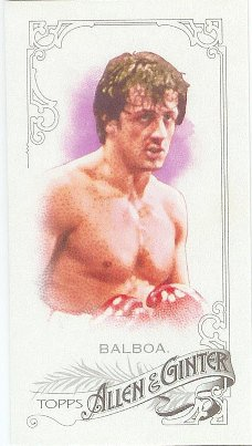 2015 Allen & Ginter Ginter Back Mini 258 Rocky Balboa