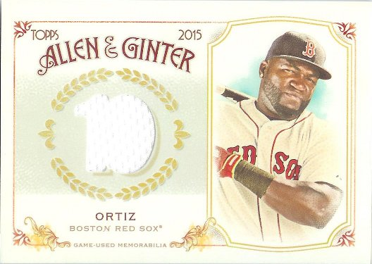 2015 Allen & Ginter Full Size Relic B FSRB-DO David Ortiz