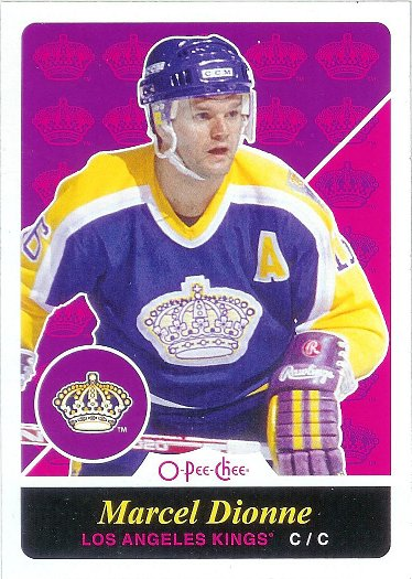 2015-16 O-Pee-Chee Retro #589 Marcel Dionne ML SP