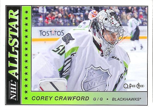 2015-16 O-Pee-Chee Glossy All-Stars #AS-31 Corey Crawford AS
