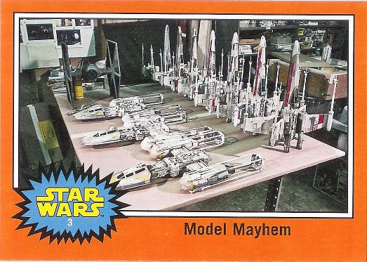 2015 Topps Star Wars: Journey to The Force Awakens Behind the Scenes #BTS-3 Model Mayhem