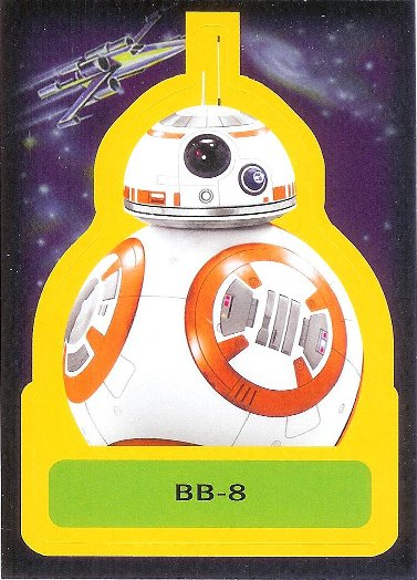 2015 Topps Star Wars: Journey to The Force Awakens Sticker #S-9 BB-8