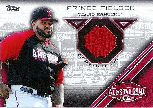 2015 Topps All Star Stitches #STIT-PF Prince Fielder