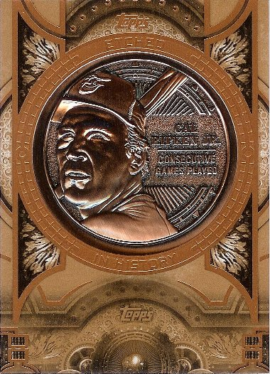 2015 Topps Etched in History Relics #EIH-12 Cal Ripken Jr.