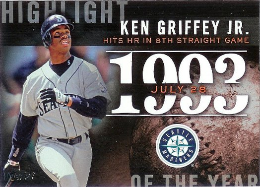 2015 Topps Highlight of the Year #H-82 Ken Griffey Jr.