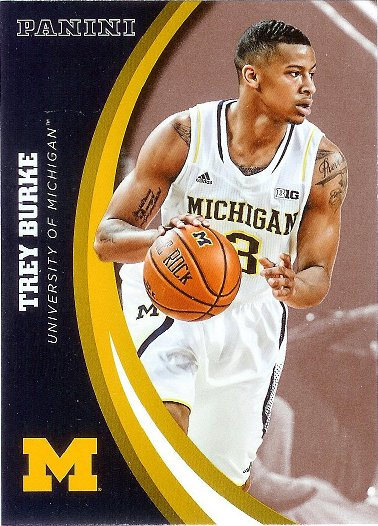 2015 Panini University of Michigan Wolverines #41 Trey Burke