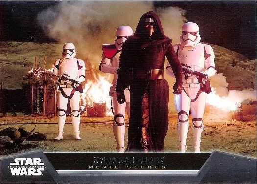 2015 Topps Star Wars The Force Awakens Movie Scenes #2 Kylo Ren Leads
