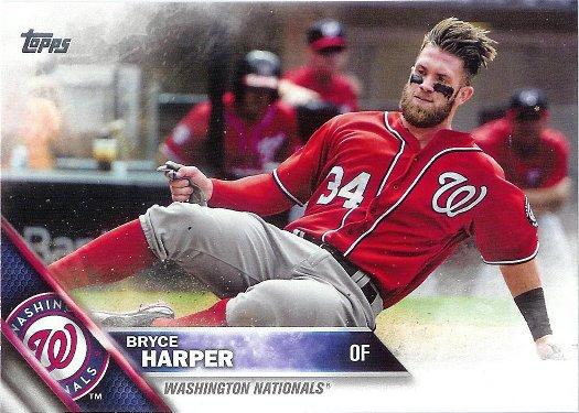 2016 Topps #100 Bryce Harper