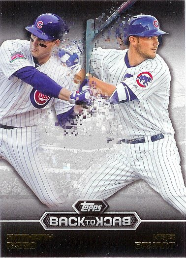 2016 Topps Back to Back #B2B-2 Kris Bryant / Anthony Rizzo