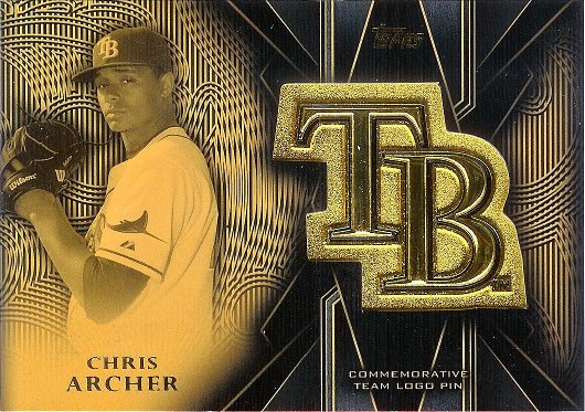 2016 Topps Team Logo Pins #TLP-CA Chris Archer