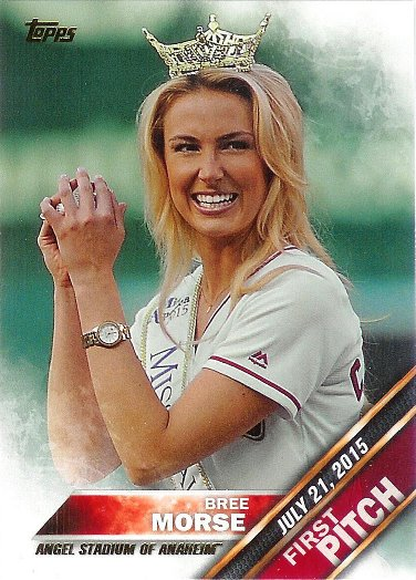 2016 Topps First Pitch #FP-6 Bree Morse